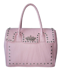 Queen Collection Sophisticated Crown Handbag