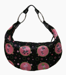 Licensed Hey Poodle Hobo Bag