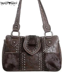 Trinity Ranch Tooling Collection Handbag