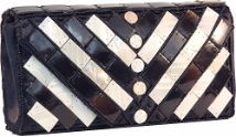 Mad by Design Large Checkered Clutch