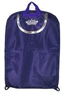 Queen Crown Embroidery Gown-Length Garment Bag