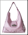 Queen Collection Sophisticated Crown Hobo Bag