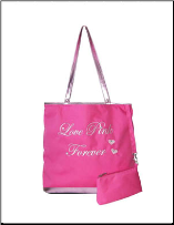 Queen Love Pink Forever Tote