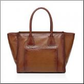 Edinburg Italian Leather Handbag