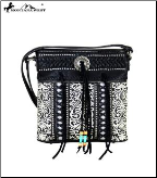 Montana West Concho Collection Crossbody Bag