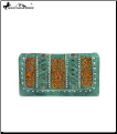 Montana West Embroidered Collection Secretary Style Wallet