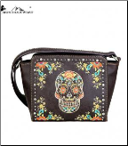 Montana West Sugar Skull Collection Crossbody