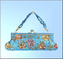 Aliz Genuine Stones Evening Bag