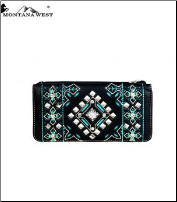 Montana West Aztec Collection Wallet