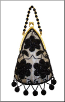 Aliz Beaded Evening Bag